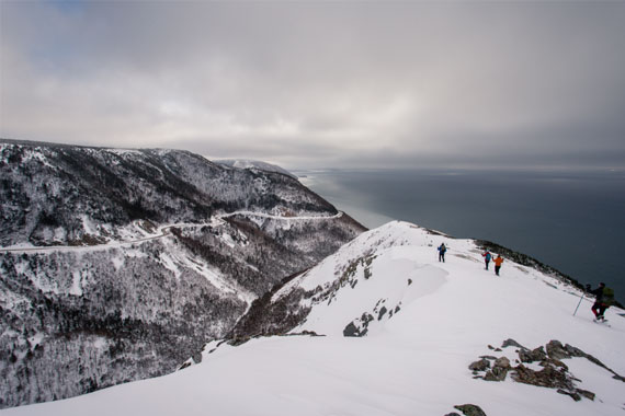 "3rd Annual Skyline Trail ""Ultimate"" Guided Snowshoe Hike 2018"