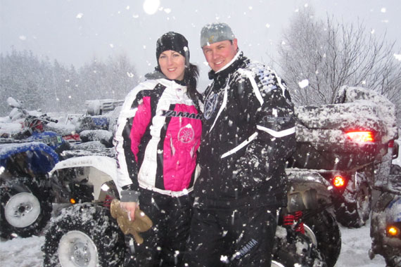 8th Annual Isle Madame ATV Riders Winterfest Rally