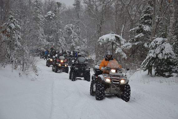 8th Annual Isle Madame Winter Festival ATV Poker Run
