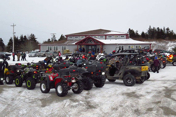 9th Annual Isle Madame ATV Riders Winterfest Rally