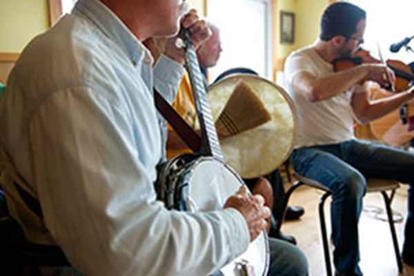 Acadian Amateur Music Jam Session at the Kinsmen Club in Belle Marche