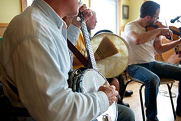Acadian Music Circle at La Salle des Retraitées/Cheticamp Seniors Hall