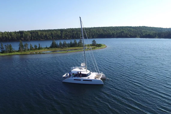 Adventure sailing with a luxurious twist!