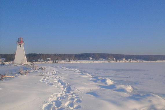 Big Baddeck Guided Snowshoe Hike