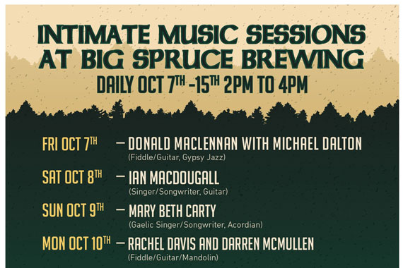 Big Spruce Brewing – Intimate Music Sessions