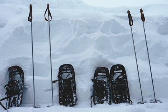Creignish Family Snowshoe/Ski Event
