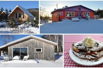 Dancing Moose Café, Cottage and Camping Cabins
