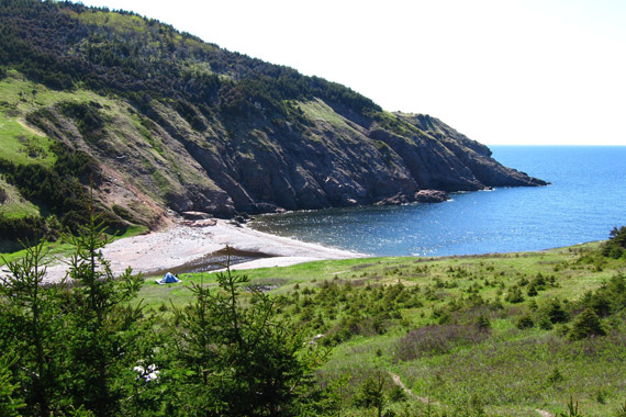 Fishing Cove Campground – Cape Breton Highlands National Park