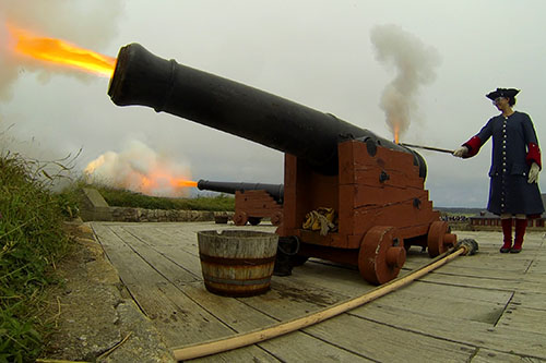 Foretress of Louisbourg National Historic Site – Fire a cannon. Have a Blast at Louisbourg!