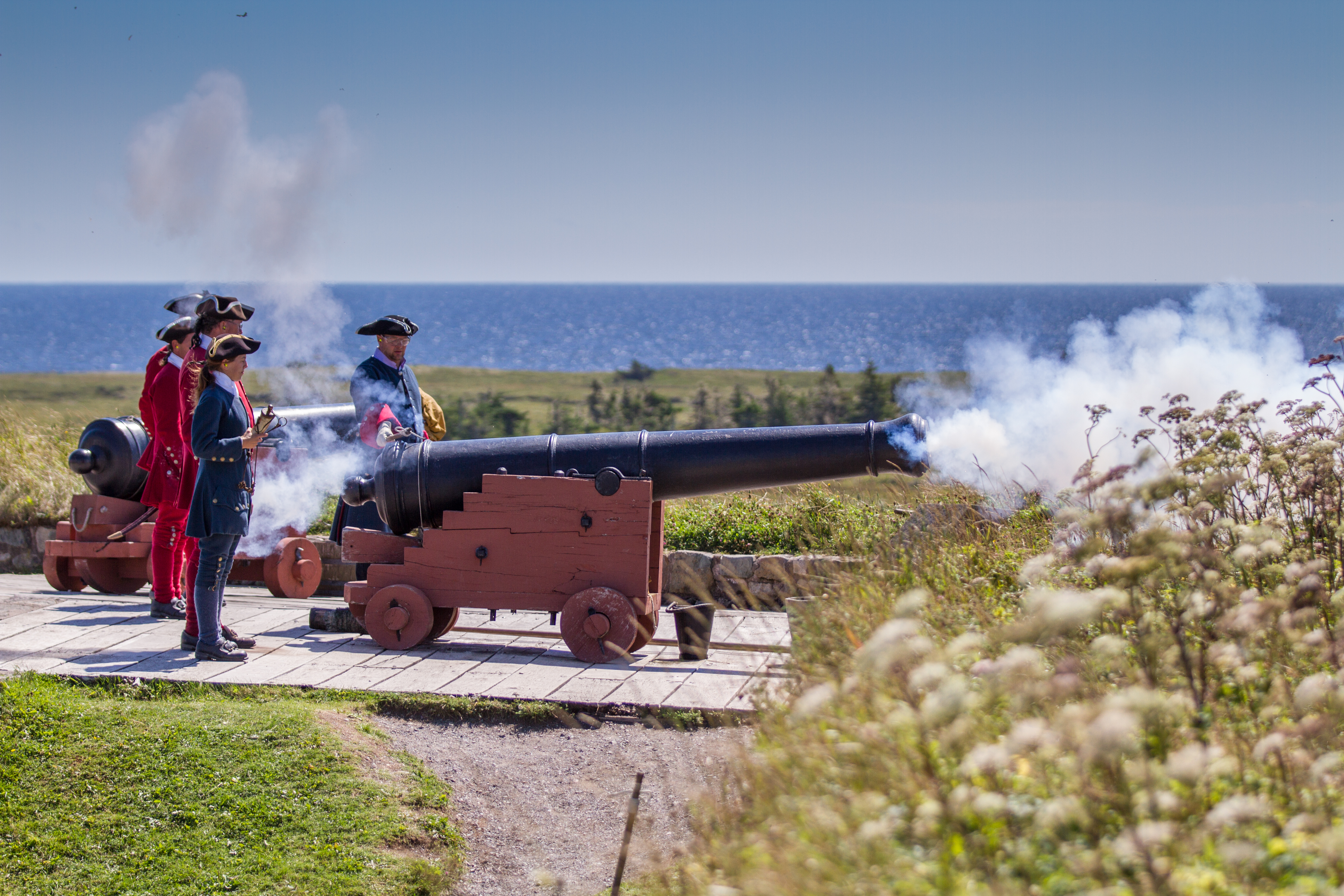 Fortress of Louisbourg – Cannon Firing  & Musket Firing