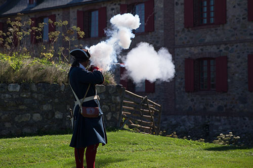 Fortress of Louisbourg National Historic Site – Wake up in the past!
