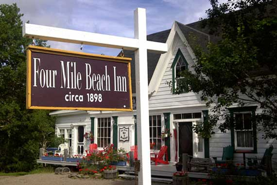 Four Mile Beach Inn (c 1898)