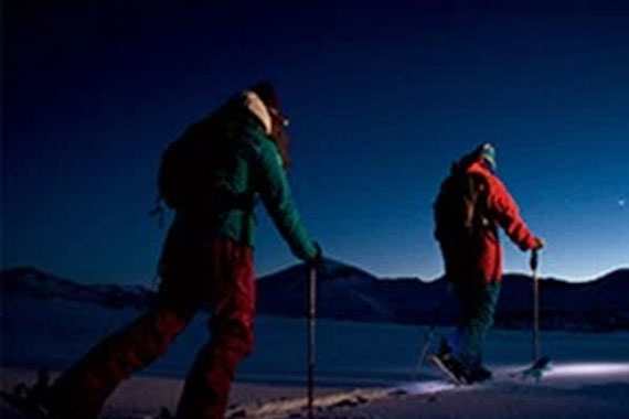 Hector's Point Moonlit Snowshoe Walks- Friday Nights