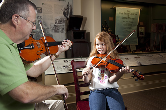 Interactive Exhibit Room – Celtic Music Interpretive Centre