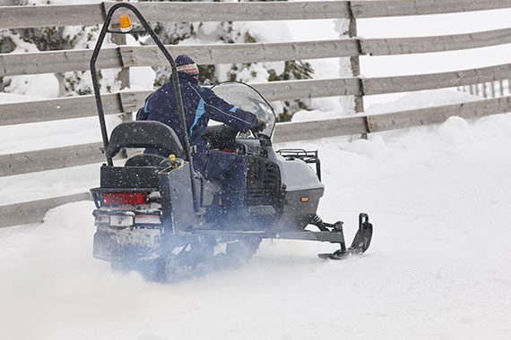 Inverness Capers Snowmobile Rally