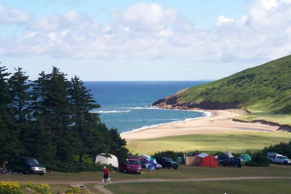 MacLeod's Beach Campsite