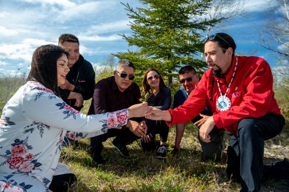 Mi'kmaq Medicine Walk