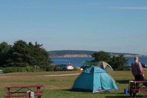 Campground Cape Breton Island Nova Scotia
