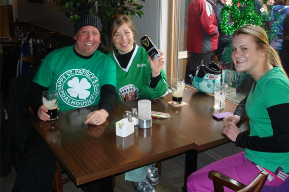 St. Patrick's Day Party at Ski Ben Eoin