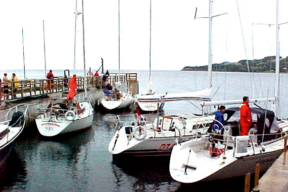 The Barra Strait Marina