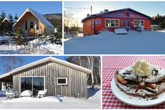 The Dancing Moose Café, Cottage and Camping Cabins