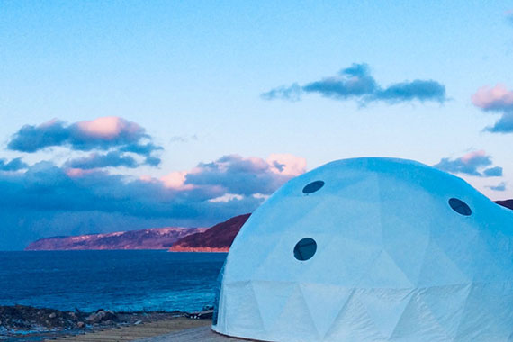True North Destinations – Eco-Chic Highland Haven Luxury Dome Experience