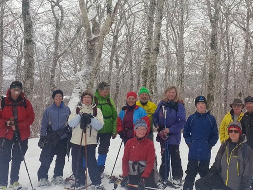 West Mabou Guided Moonlit Snowshoe Hike