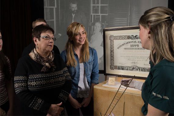 White Glove Tour – Alexander Graham Bell Museum
