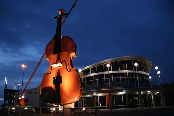 World's Largest Fiddle